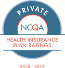 NCQA Health Insurance Plan Ratings seal