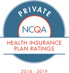 NCQA Health Insurance Rating seal